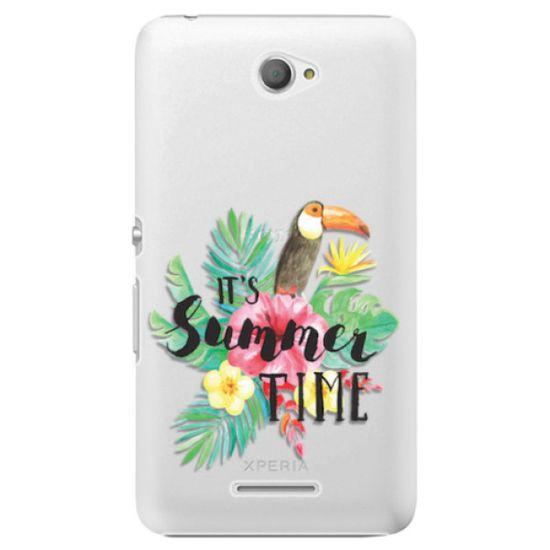 iSaprio Plastový kryt - Summer Time pro Sony Xperia E4