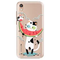 iSaprio Plastový kryt - Cat with melon pro Honor 8S
