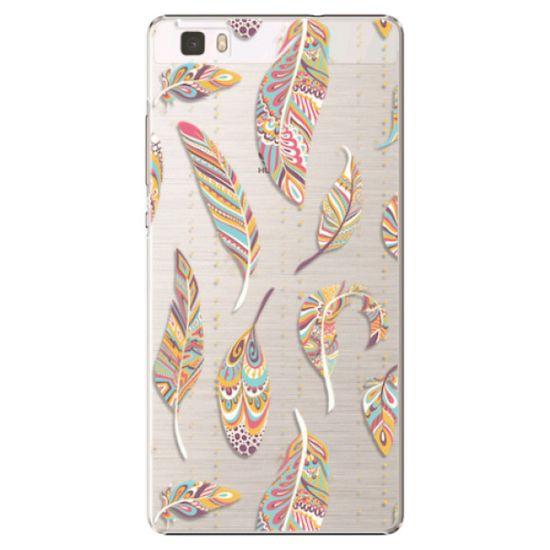 iSaprio Plastový kryt - Feather pattern 02 pro Huawei P8 Lite