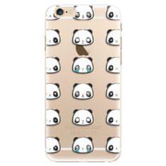 iSaprio Plastový kryt - Panda pattern 01 pro Apple iPhone 6