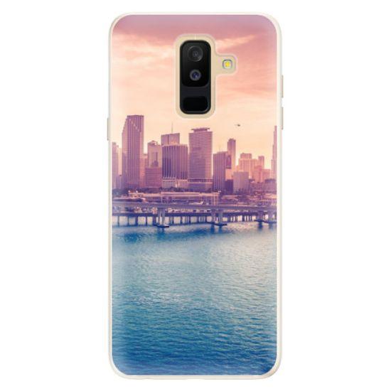 iSaprio Silikónové puzdro - Morning in a City pre Samsung Galaxy A6 plus