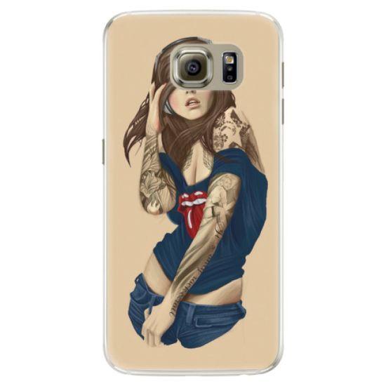 iSaprio Silikónové puzdro - Girl 03 pre Samsung Galaxy S6 Edge