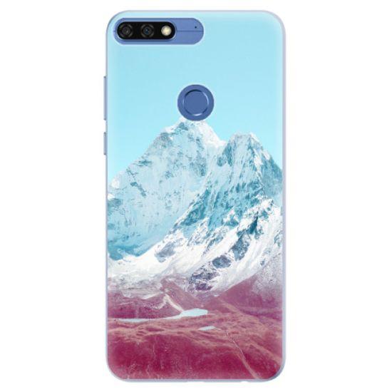 iSaprio Silikónové puzdro - Highest Mountains 01 pre Honor 7C