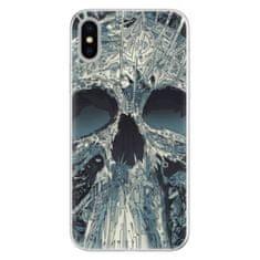 iSaprio Silikónové puzdro - Abstract Skull pre Apple iPhone X