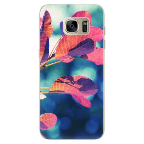 iSaprio Silikónové puzdro - Autumn 01 pre Samsung Galaxy S7 Edge
