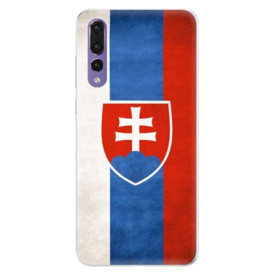 iSaprio Silikonové pouzdro - Slovakia Flag pro Huawei P20 Pro