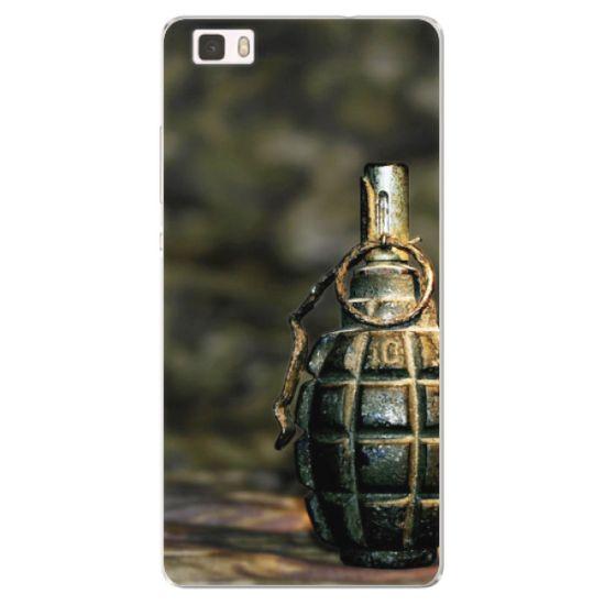 iSaprio Silikónové puzdro - Grenade pre Huawei P8 Lite