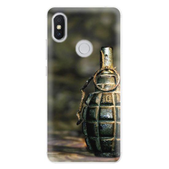 iSaprio Silikónové puzdro - Grenade pre Xiaomi Redmi S2