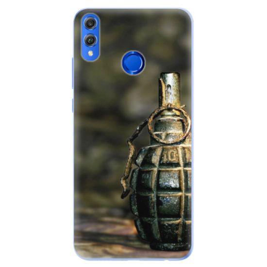 iSaprio Silikónové puzdro - Grenade pre Honor 8X