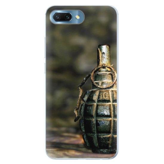 iSaprio Silikónové puzdro - Grenade pre Honor 10