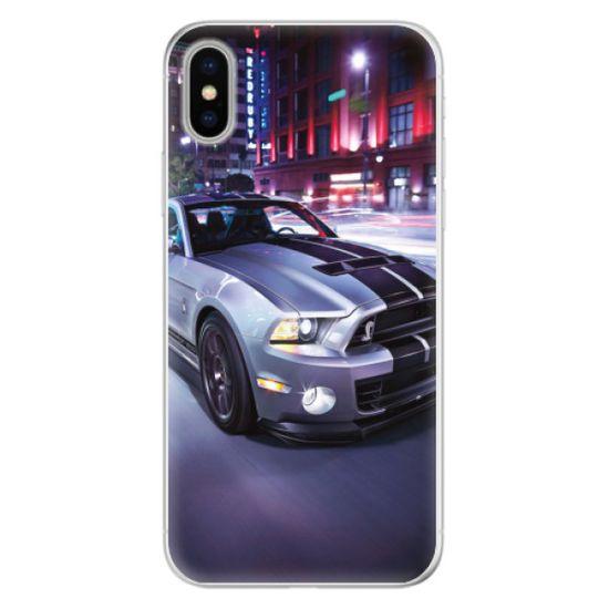 iSaprio Silikonové pouzdro - Mustang pro Apple iPhone X