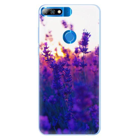 iSaprio Silikónové puzdro - Lavender Field pre Huawei Y7 Prime 2018