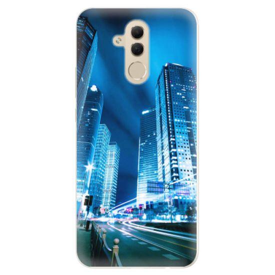 iSaprio Silikonové pouzdro - Night City Blue pro Huawei Mate 20 lite