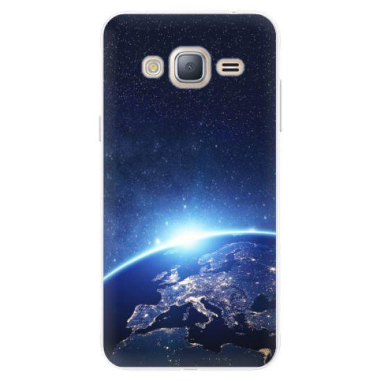 iSaprio Silikonové pouzdro - Earth at Night pro Samsung Galaxy J3