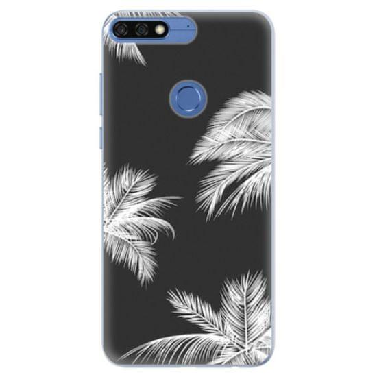 iSaprio Silikónové puzdro - White Palm pre Honor 7C