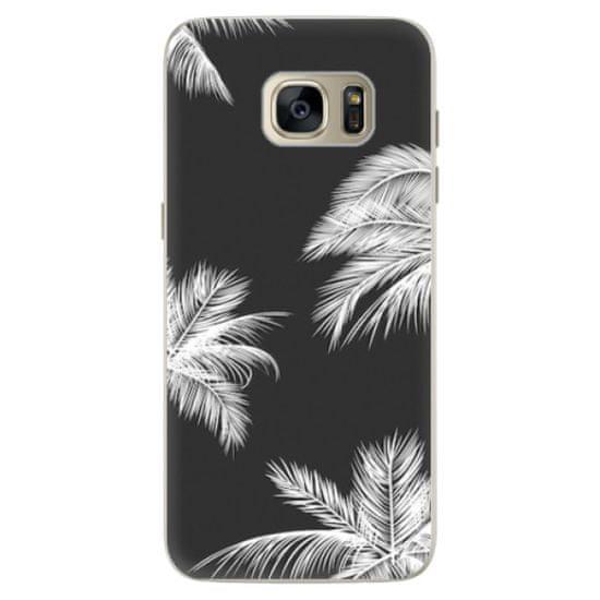 iSaprio Silikónové puzdro - White Palm pre Samsung Galaxy S7 Edge