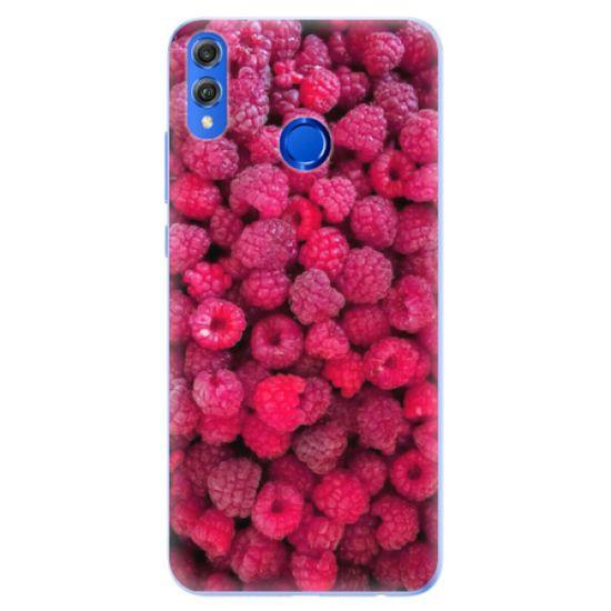 iSaprio Silikónové puzdro - Raspberry pre Honor 8X