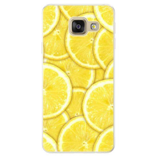 iSaprio Silikónové puzdro - Yellow pre Samsung Galaxy A5 2016