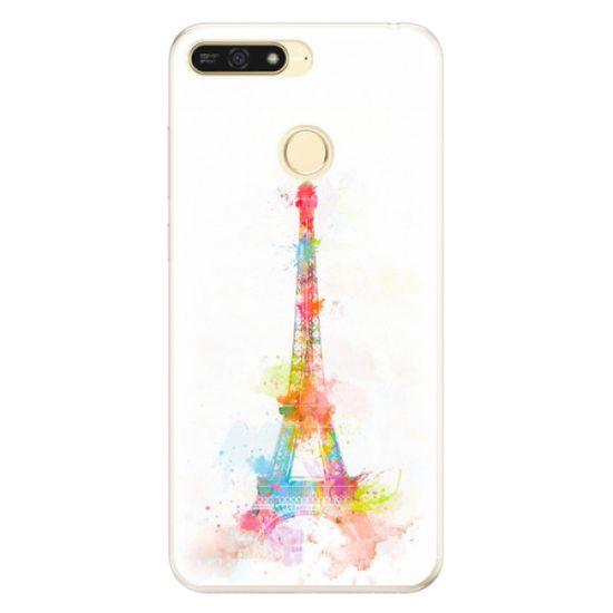 iSaprio Silikónové puzdro - Eiffel Tower pre Honor 7A