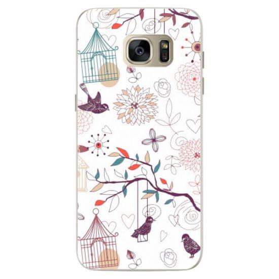iSaprio Silikónové puzdro - Birds pre Samsung Galaxy S7 Edge