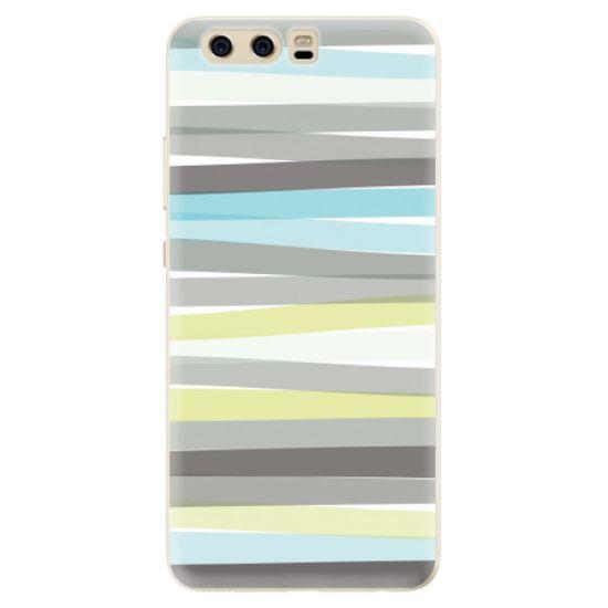 iSaprio Silikónové puzdro - Stripes pre Huawei P10