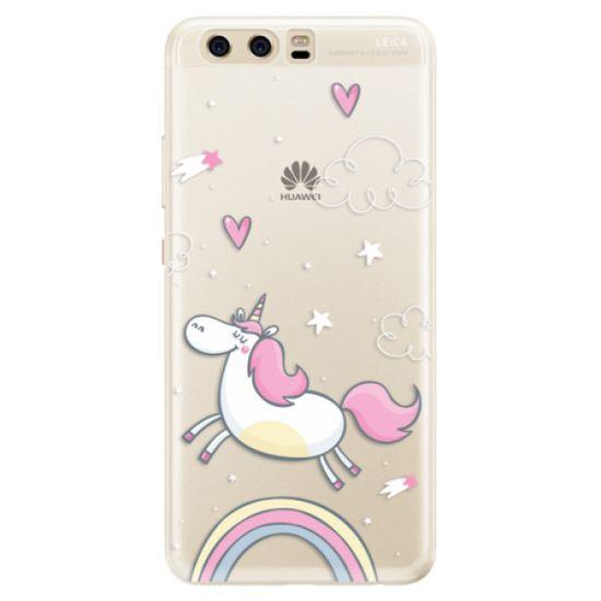 iSaprio Silikónové puzdro - Unicorn 01 pre Huawei P10