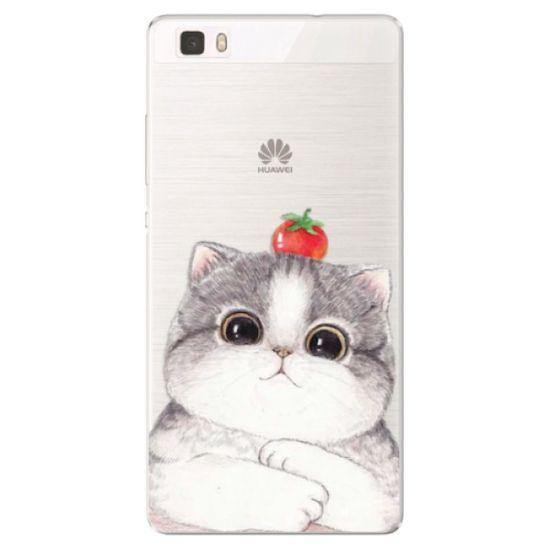 iSaprio Silikónové puzdro - Cat 03 pre Huawei P8 Lite