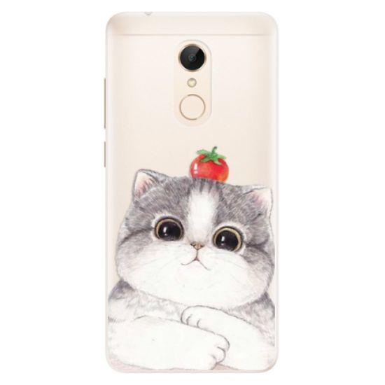 iSaprio Silikónové puzdro - Cat 03 pre Xiaomi Redmi 5