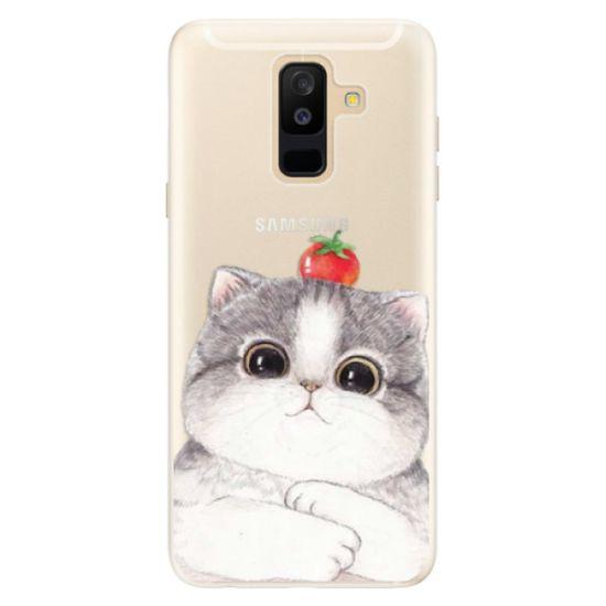 iSaprio Silikónové puzdro - Cat 03 pre Samsung Galaxy A6 plus