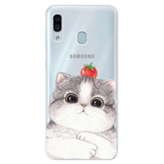 iSaprio Silikónové puzdro - Cat 03 pre Samsung Galaxy A30