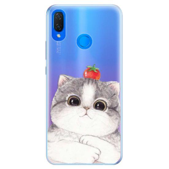iSaprio Silikónové puzdro - Cat 03 pre Huawei Nova 3i