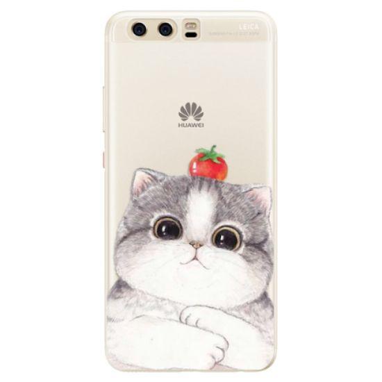 iSaprio Silikónové puzdro - Cat 03 pre Huawei P10