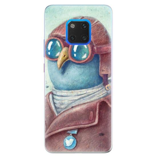 iSaprio Silikónové puzdro - Pilot twitter pre Huawei Mate 20 Pro