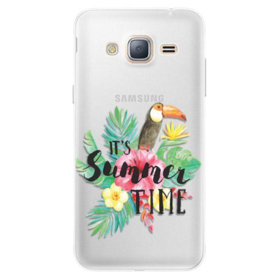 iSaprio Silikónové puzdro - Summer Time pre Samsung Galaxy J3