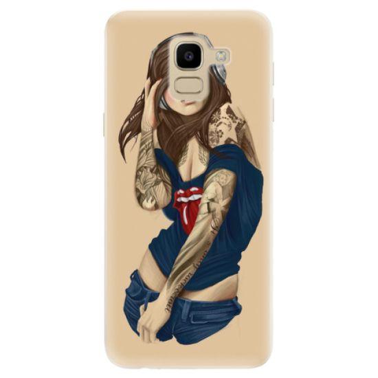 iSaprio Silikónové puzdro - Girl 03 pre Samsung Galaxy J6