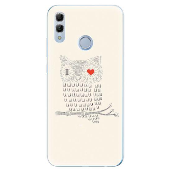 iSaprio Silikónové puzdro - I Love You 01 pre Honor 10 Lite