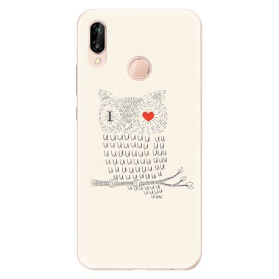 iSaprio Silikónové puzdro - I Love You 01 pre Huawei P20 Lite