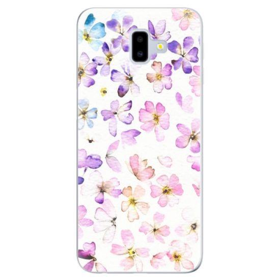 iSaprio Silikonové pouzdro - Wildflowers pro Samsung Galaxy J6+