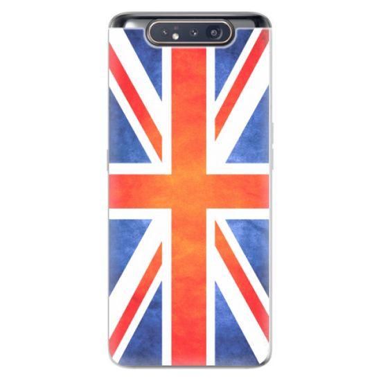 iSaprio Silikónové puzdro - UK Flag pre Samsung Galaxy A80