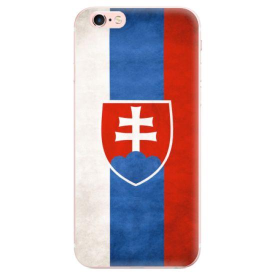 iSaprio Silikonové pouzdro - Slovakia Flag pro Apple iPhone 6 Plus