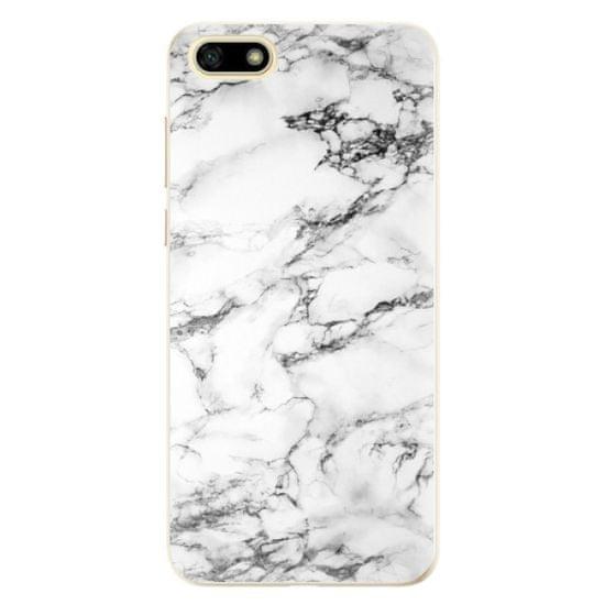 iSaprio Silikónové puzdro - White Marble 01 pre Huawei Y5 2018