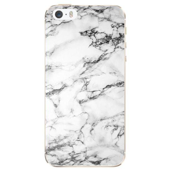 iSaprio Silikónové puzdro - White Marble 01 pre Apple iPhone 5/5S/SE