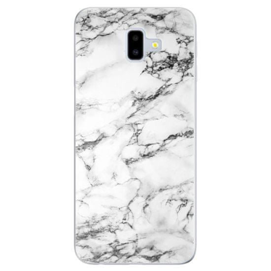 iSaprio Silikónové puzdro - White Marble 01 pre Samsung Galaxy J6+