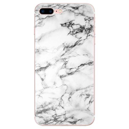 iSaprio Silikonové pouzdro - White Marble 01 pro Apple iPhone 7 Plus / 8 Plus