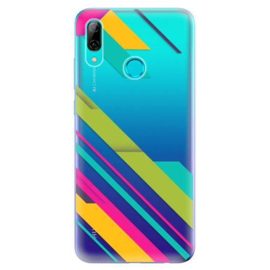 iSaprio Silikonové pouzdro - Color Stripes 03 pro Huawei P Smart 2019