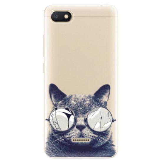iSaprio Silikónové puzdro - Crazy Cat 01 pre Xiaomi Redmi 6A