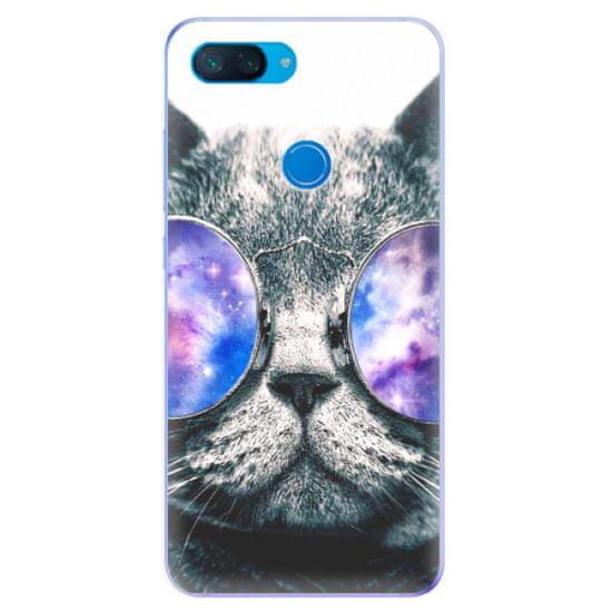 iSaprio Silikonové pouzdro - Galaxy Cat pro Xiaomi Mi 8 Lite