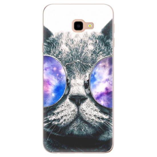 iSaprio Silikónové puzdro - Galaxy Cat pre Samsung Galaxy J4+
