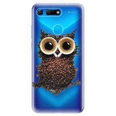 iSaprio Silikónové puzdro s motívom Owl And Coffee