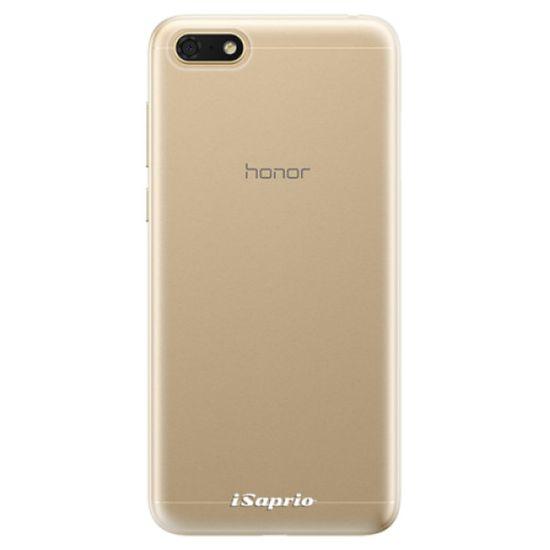 iSaprio Silikonové pouzdro - 4Pure - mléčný bez potisku pro Honor 7S